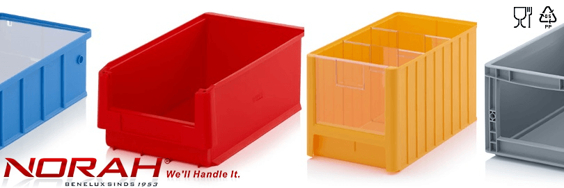 Storage bins and linbins